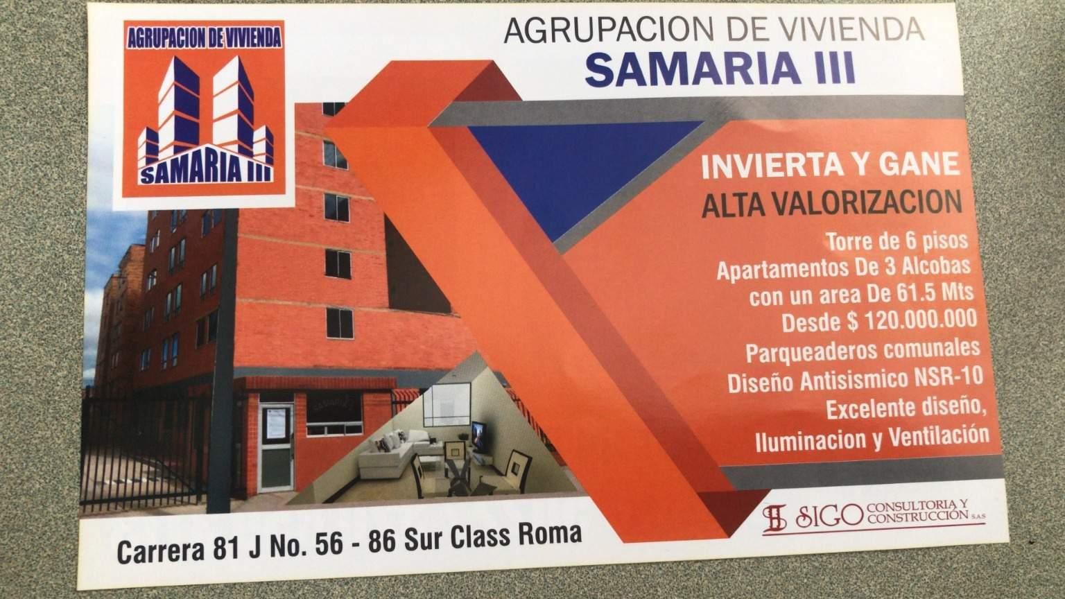 Apartamento en Bogotá Dc 8168